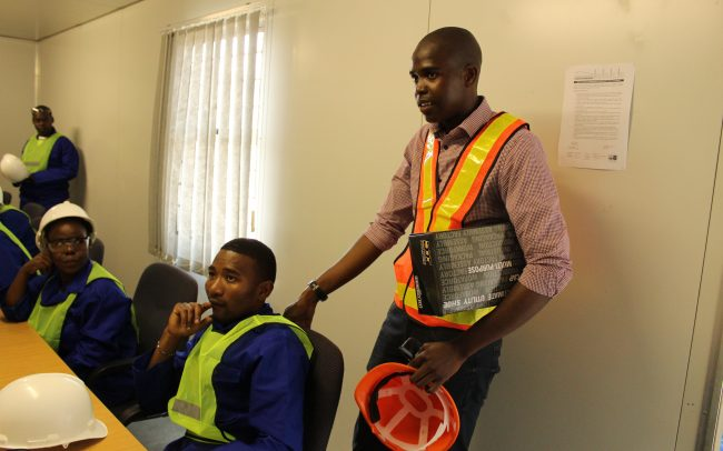 Roadworks Training at Mhlathuze, KwaZulu-Natal